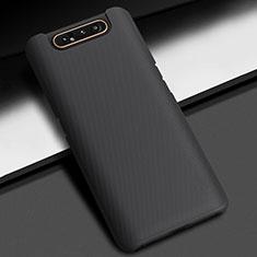 Custodia Plastica Rigida Cover Opaca M03 per Samsung Galaxy A80 Nero