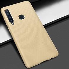 Custodia Plastica Rigida Cover Opaca M03 per Samsung Galaxy A9s Oro