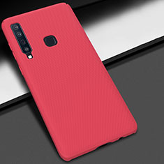 Custodia Plastica Rigida Cover Opaca M03 per Samsung Galaxy A9s Rosso