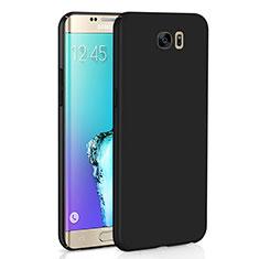 Custodia Plastica Rigida Cover Opaca M03 per Samsung Galaxy S6 Edge SM-G925 Nero