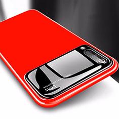 Custodia Plastica Rigida Cover Opaca M03 per Xiaomi CC9e Rosso