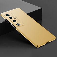 Custodia Plastica Rigida Cover Opaca M03 per Xiaomi Mi 10 Ultra Oro