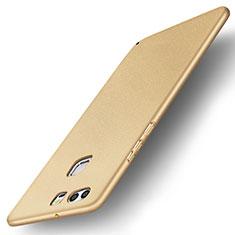 Custodia Plastica Rigida Cover Opaca M04 per Huawei P9 Plus Oro