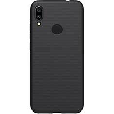 Custodia Plastica Rigida Cover Opaca M04 per Xiaomi Redmi Note 7 Nero