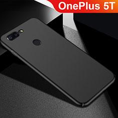 Custodia Plastica Rigida Cover Opaca M05 per OnePlus 5T A5010 Nero