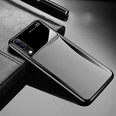Custodia Plastica Rigida Cover Opaca M06 per Huawei P20 Nero