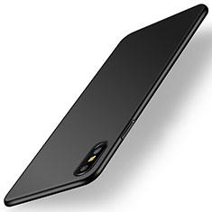 Custodia Plastica Rigida Cover Opaca M15 per Apple iPhone Xs Max Nero