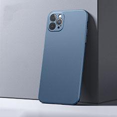 Custodia Plastica Rigida Cover Opaca P01 per Apple iPhone 12 Pro Max Blu
