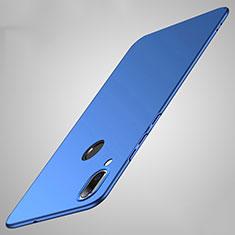 Custodia Plastica Rigida Cover Opaca P01 per Huawei Honor 8X Blu