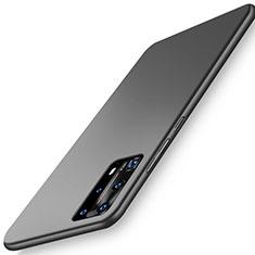 Custodia Plastica Rigida Cover Opaca P01 per Huawei P40 Pro+ Plus Nero