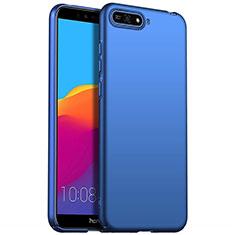 Custodia Plastica Rigida Cover Opaca P01 per Huawei Y6 (2018) Blu