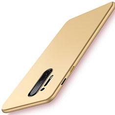 Custodia Plastica Rigida Cover Opaca P01 per OnePlus 8 Pro Oro
