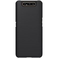 Custodia Plastica Rigida Cover Opaca P01 per Samsung Galaxy A80 Nero