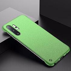 Custodia Plastica Rigida Cover Opaca P01 per Samsung Galaxy Note 10 Plus 5G Verde