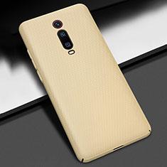 Custodia Plastica Rigida Cover Opaca P01 per Xiaomi Mi 9T Pro Oro