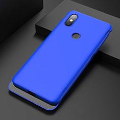 Custodia Plastica Rigida Cover Opaca P01 per Xiaomi Mi Mix 3 Blu