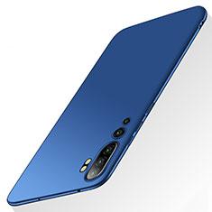 Custodia Plastica Rigida Cover Opaca P01 per Xiaomi Mi Note 10 Blu