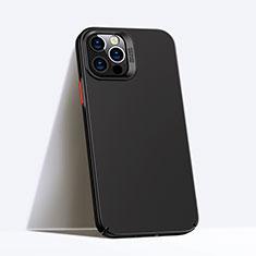 Custodia Plastica Rigida Cover Opaca P02 per Apple iPhone 12 Pro Max Nero