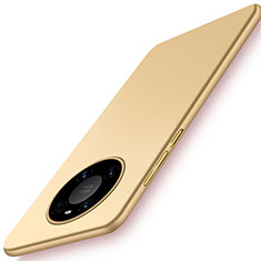 Custodia Plastica Rigida Cover Opaca P02 per Huawei Mate 40 Oro