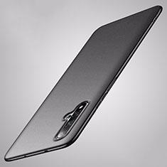 Custodia Plastica Rigida Cover Opaca P02 per Huawei Nova 5 Nero