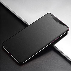 Custodia Plastica Rigida Cover Opaca P02 per Oppo Find X Super Flash Edition Nero