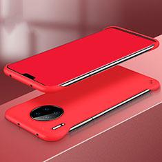 Custodia Plastica Rigida Cover Opaca P03 per Huawei Mate 30 Rosso