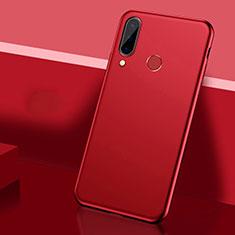 Custodia Plastica Rigida Cover Opaca P03 per Huawei P30 Lite Rosso