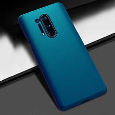 Custodia Plastica Rigida Cover Opaca P03 per OnePlus 8 Pro Blu