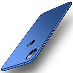 Custodia Plastica Rigida Cover Opaca R01 per Huawei Y9 (2019) Blu