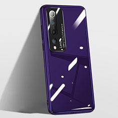 Custodia Plastica Rigida Cover Opaca T01 per Xiaomi Mi 10 Viola