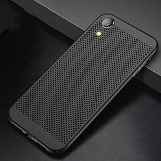 Custodia Plastica Rigida Cover Perforato per Apple iPhone XR Nero