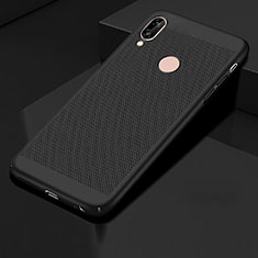 Custodia Plastica Rigida Cover Perforato per Huawei Honor 10 Lite Nero