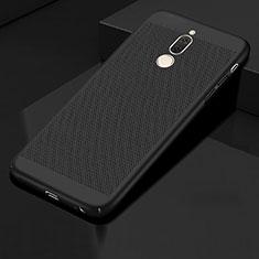 Custodia Plastica Rigida Cover Perforato per Huawei Mate 10 Lite Nero