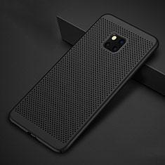 Custodia Plastica Rigida Cover Perforato per Huawei Mate 20 Pro Nero