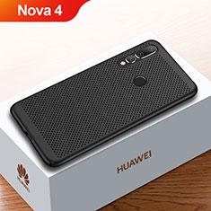 Custodia Plastica Rigida Cover Perforato per Huawei Nova 4 Nero