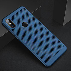 Custodia Plastica Rigida Cover Perforato per Xiaomi Mi A2 Blu