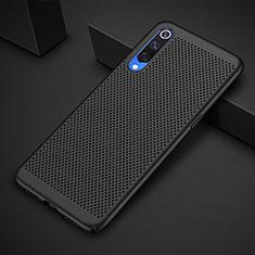 Custodia Plastica Rigida Cover Perforato per Xiaomi Mi A3 Lite Nero