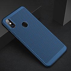 Custodia Plastica Rigida Cover Perforato per Xiaomi Redmi 6 Pro Blu