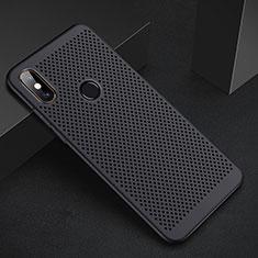Custodia Plastica Rigida Cover Perforato per Xiaomi Redmi 6 Pro Nero