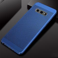 Custodia Plastica Rigida Cover Perforato W01 per Samsung Galaxy S10e Blu
