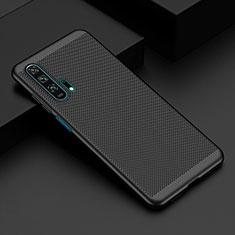 Custodia Plastica Rigida Cover Perforato W02 per Huawei Honor 20 Pro Nero