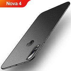 Custodia Plastica Rigida Cover Sabbie Mobili per Huawei Nova 4 Nero