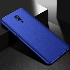 Custodia Plastica Rigida Cover Sabbie Mobili per Oppo Reno Blu
