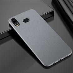 Custodia Plastica Rigida Cover Sabbie Mobili per Samsung Galaxy A6s Argento