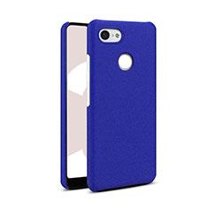 Custodia Plastica Rigida Cover Sabbie Mobili Q01 per Google Pixel 3 Blu