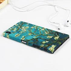 Custodia Plastica Rigida Fiori per Sony Xperia Z5 Premium Verde