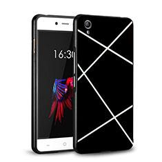 Custodia Plastica Rigida Opaca Line per OnePlus X Nero