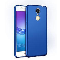 Custodia Plastica Rigida Opaca M01 per Huawei Enjoy 6 Blu