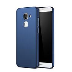 Custodia Plastica Rigida Opaca M01 per Huawei G9 Plus Blu