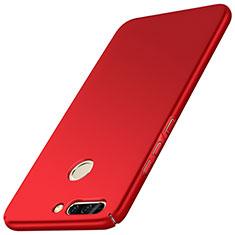 Custodia Plastica Rigida Opaca M01 per Huawei Honor 8 Pro Rosso